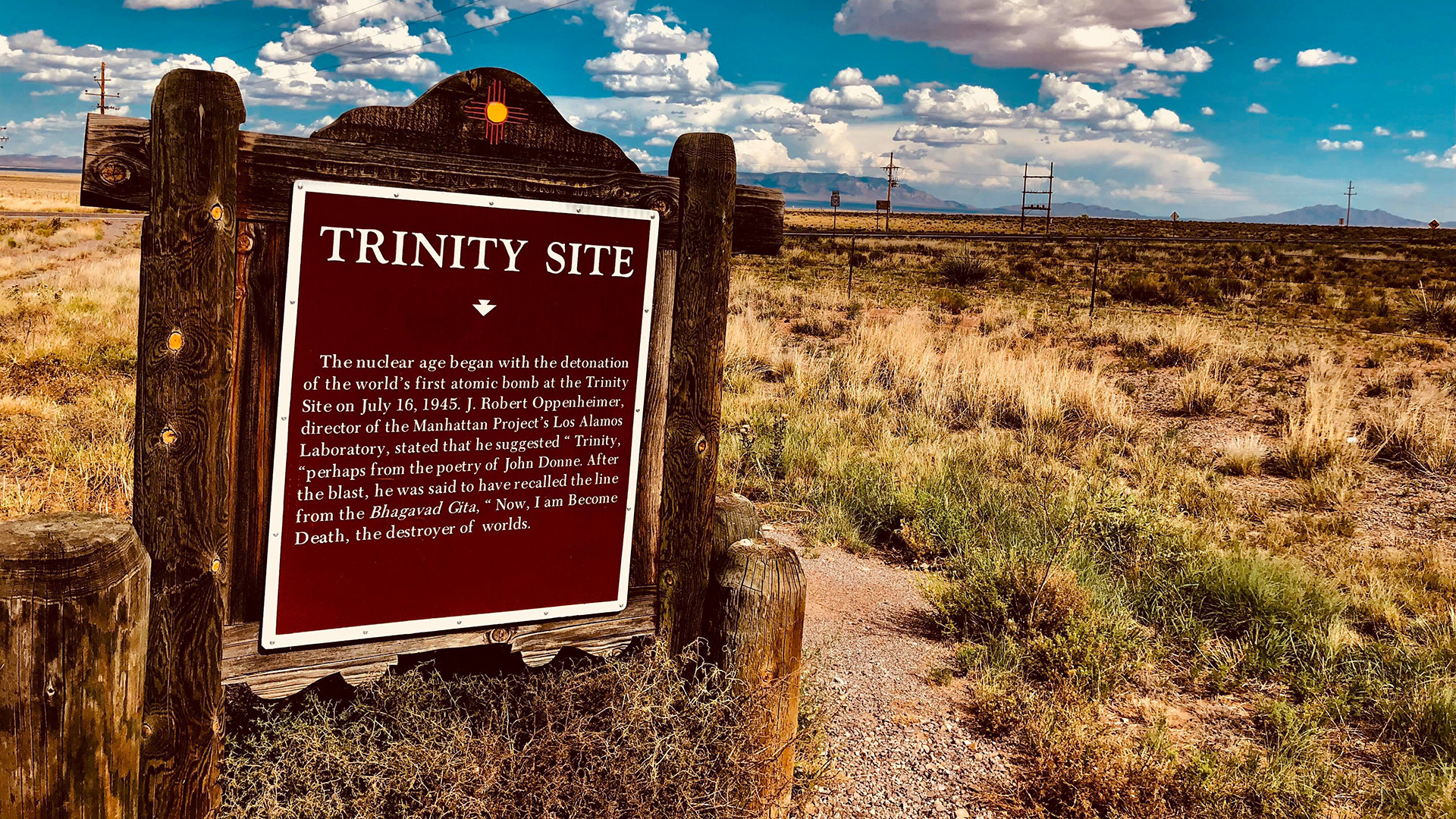 Reservations Open for October 2021 Trinity Site Tour